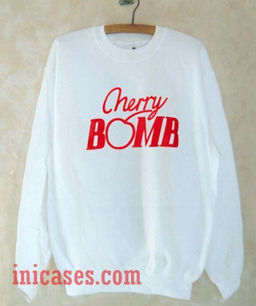 Cherry Bomb Sweatshirt Men And Women