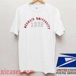 Mermaid University 1972 T shirt