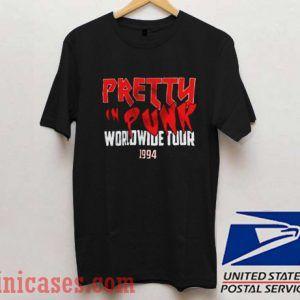 Pretty In Punk Worldwide Tour 1994 T shirt