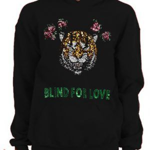 Taylor Swift Blind For Love Tiger Hoodie pullover