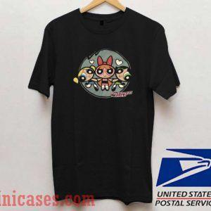 The Powerpuff Girls Black T shirt