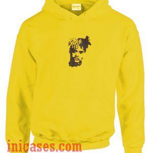 Yellow xxxtentacion Hoodie pullover