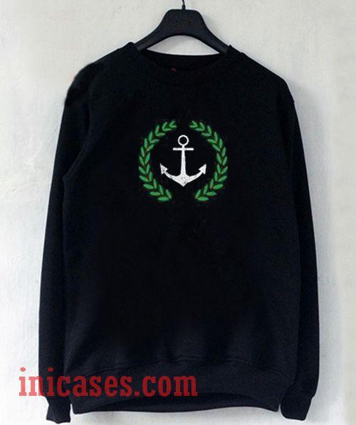 Anchor Sweatshirt Men And Women