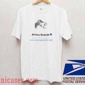 Ariana Grande on Twitter T shirt