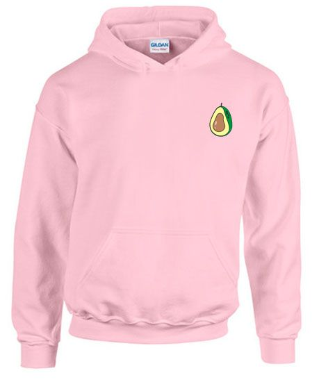 Avocado Pink Hoodie pullover