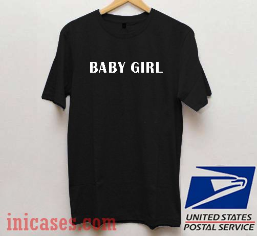 Baby Girl Black T shirt