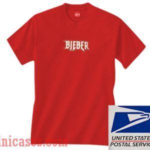 Bieber Red T shirt