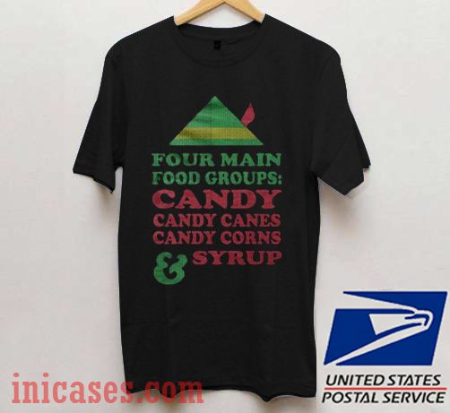 Candy Canes Corns Syrup Christmas T shirt