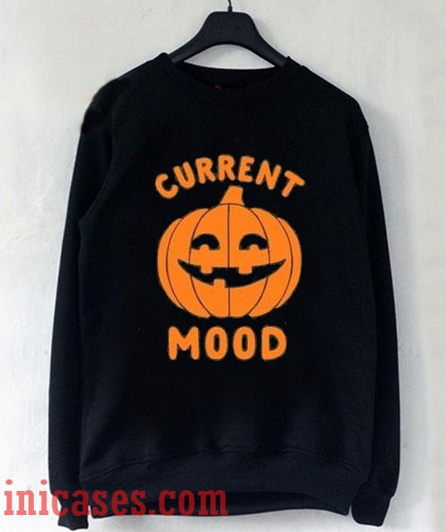 Current Mood Halloween Sweatshirt Men And Women
