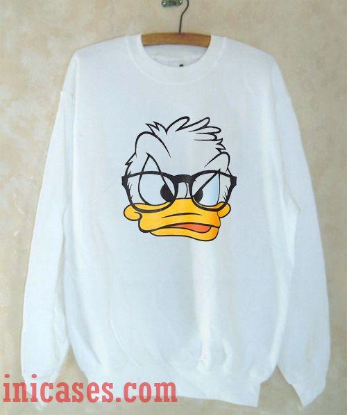 Donald Duck Sweatshirt Men And Women