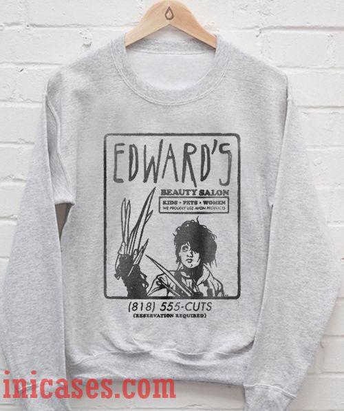 Edward's Beauty Salon Sweatshirt Men And Women