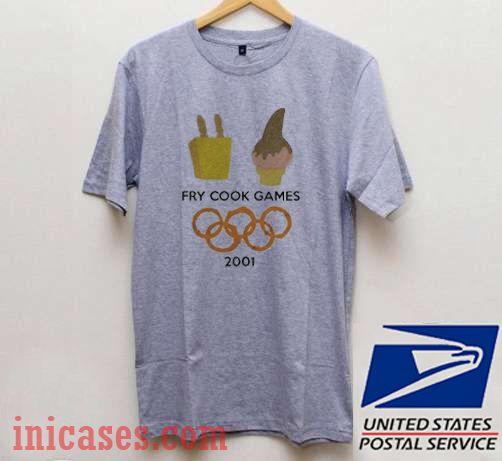 Fry Cook Games 2001 T shirt