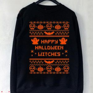 Happy Halloween WItches Sweatshirt Men And Women