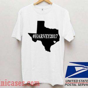 Texas Hurricane Harvey 2017 T shirt