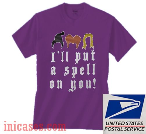 I'll Put A Spell On You Halloween T shirt