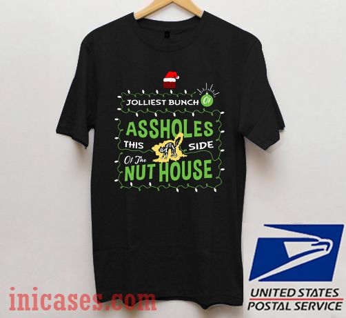 Jolliest Bunch Of Assholes This Side Of The Nuthouse Christmas Vacation T shirt