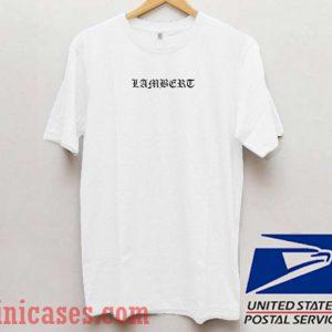 Lambert T shirt