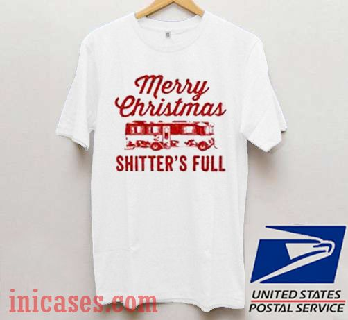 Merry Christmas Shitter's Full Christmas gift T shirt