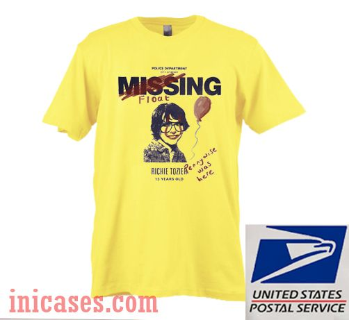 Missing 'Richie Tozier' Poster T shirt