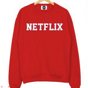 Netflix Red Sweatshirt Men And Women