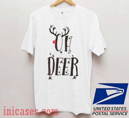 Oh Deer Christmas T shirt