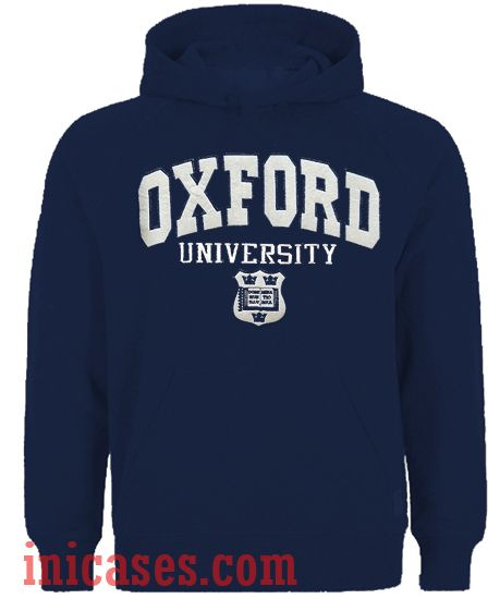 Oxford University Navy Hoodie pullover