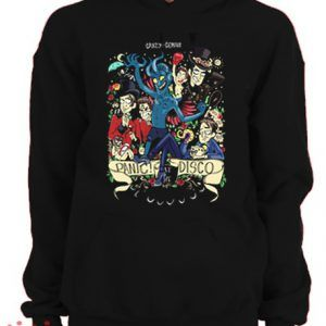 Panic At The Disco Art Hoodie pullover