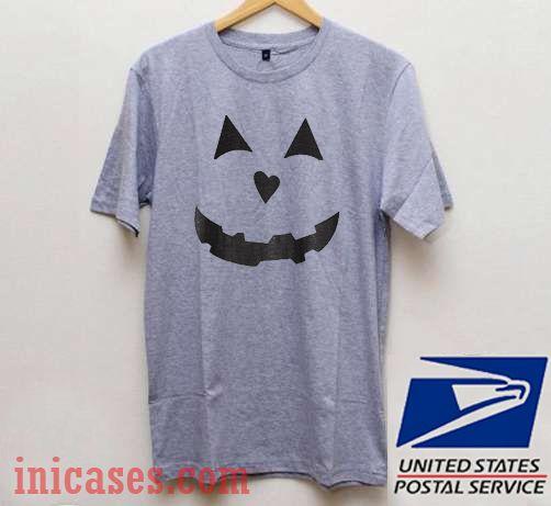 Pumpkin Face Halloween T shirt