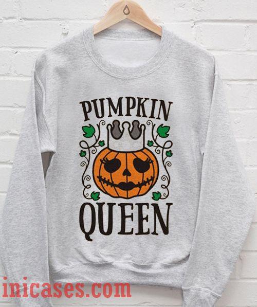 Pumpkin Queen Halloween Sweatshirt Men And Women