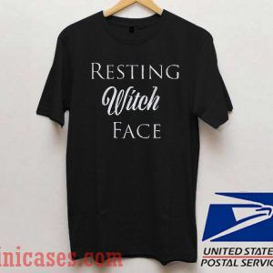 Resting Witch Face Halloween T shirt
