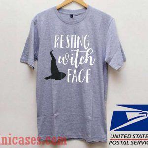 Resting Witch Face Hocus Pocus T shirt