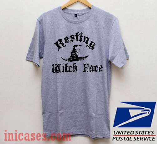 Resting Witch Face Vintage Halloween T shirt