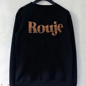 Rouje Logo Sweatshirt Men And Women