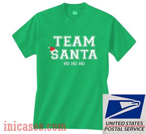 Team Santa Ho ho ho Christmas T shirt