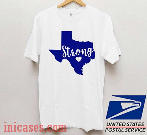 Texas Strong Relief for Texas T shirt
