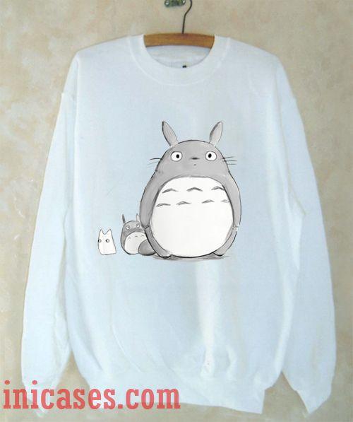 Totoro Sweatshirt Men And Women