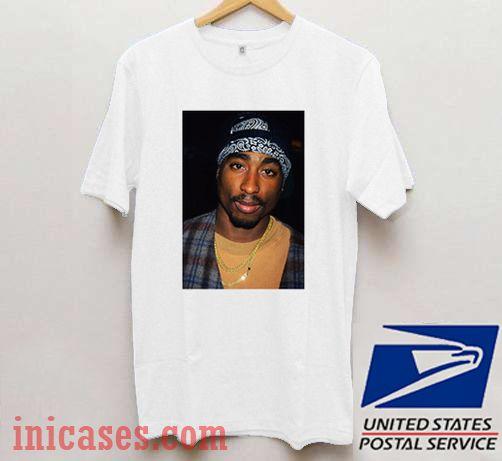 Tupac Shakur Photo T shirt