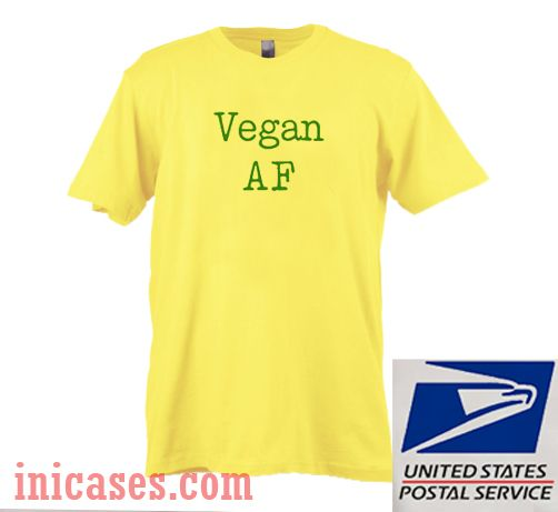 Vegan AF T shirt