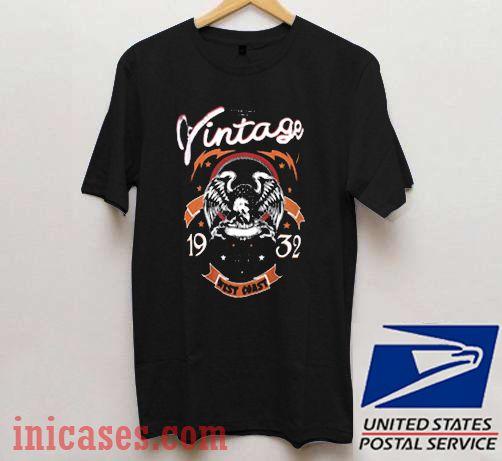 Vintage West Coast 1932 T shirt