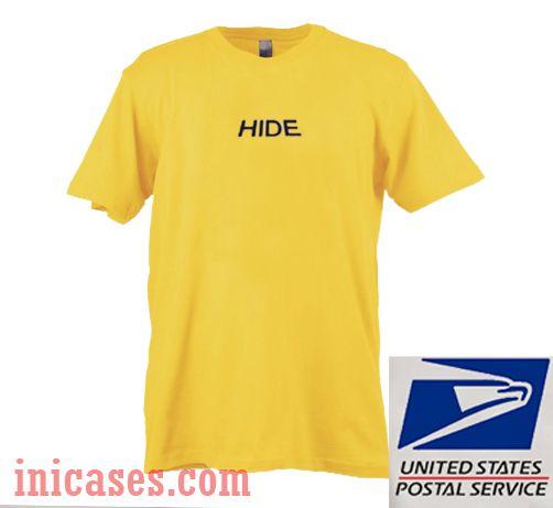 Yellow hide T shirt