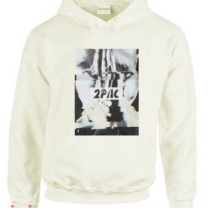 2Pac Glitch Photo Hoodie pullover