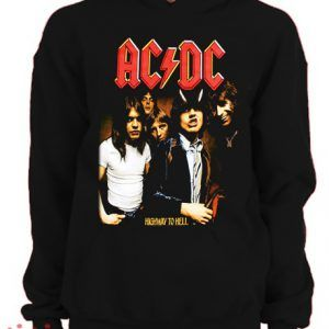 ACDC Highway To Hell Hoodie pullover