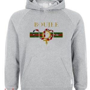 Boujee Grey Hoodie pullover