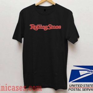 Rolling Stone Red Logo T shirt