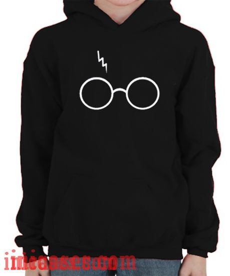 Scar and Glasses Harry Potter Hoodie pullover