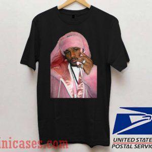 Tupac Shakur Pink T shirt