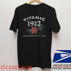 Titanic 1912 Cobh Queenstown T shirt