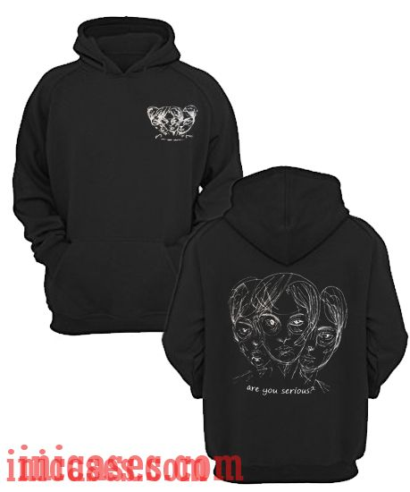 3c5b95001 Are You Serious Hoodie pullover