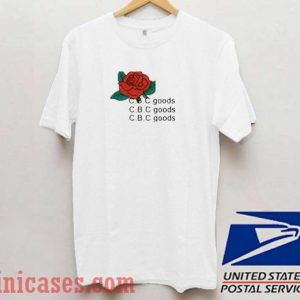 Cbc Goods Rose T shirt