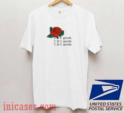 Cbc Goods Rose T shirt